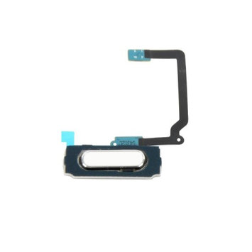 Npr Home Button Flex Cable for Samsung Galaxy S5 G900 - White