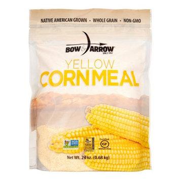 Bow & Arrow Foods Bow & Arrow Whole Grain Cornmeal, Yellow, 24 Oz