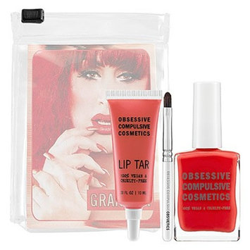 Obsessive Compulsive Cosmetics Lip Tar & Nail Lacquer Set Grandma