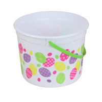 Olivet International Inc. Easter 5 quart White Eggs Bucket