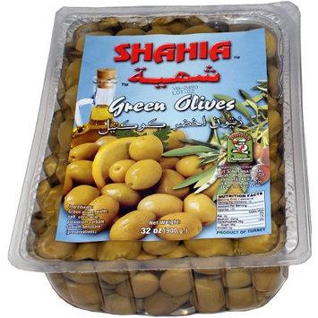 Tut's International Export & Import Co Shahia Green Olives, 8.8 oz