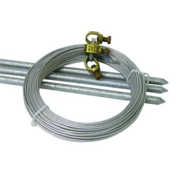 Field Guardian 3 ft. Complete Grounding Kit