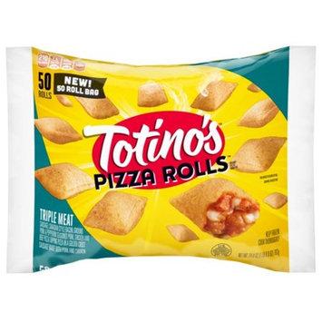 Totino's Pizza Rolls, Triple Meat, 50 Rolls, 24.8 oz Bag