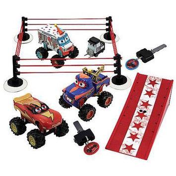 Desigual Monster Truck Wrestling Play Set Plastic Cars Tormentor, Frightening McMean & I-Screamer Monster Tru