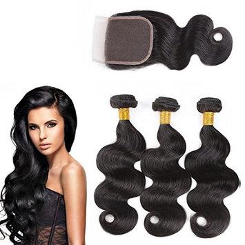 Nifty Girl Virgin Hair Natural Human Hair Extensions Brazilian Body Wave Hair 100% Human Hair (14