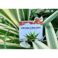 Aloe-Vera & Snail Gluta Soap Cleansing Soap Premium grade 85 g. by ATC