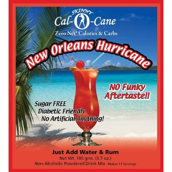 Sugar Free New Orleans Hurricane No Calories or Carbs - 100% All Mix - 11 Servings