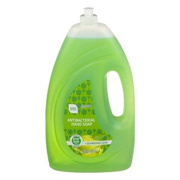 Smart Sense Antibacterial Hand Soap + Dishwashing Liquid Green Apple, 56 fl oz