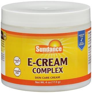 Sundance Vitamins E-Cream Complex Skin Care Cream - 4 oz