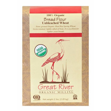 Great River Organic Milling Organic Unbleached Wheat Flour [Unbleached Bread]