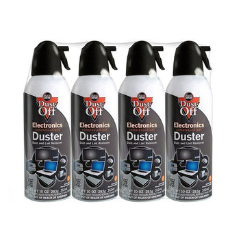 Falcon Compressed Gas (152a) Disposable Cleaning Duster, 20 Cans Total