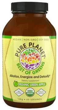 Pure Planet - Best of Greens Organic Green Apple - 158 Grams