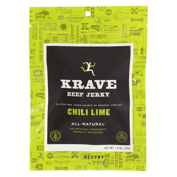 All Natural Beef Jerky Chili Lime - 1 oz.
