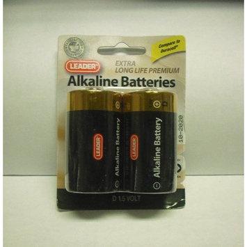 Leader Alkaline Battery D 2 Pk