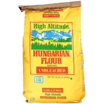 High Altitude: Enriched Unbleached Hungarian Flour, 25 Lb