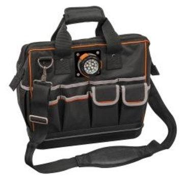 Klein Tools Tradesman Pro Carrying Case for Tools - Black - 1680D Ballistic Weave - Shoulder Strap, Handle