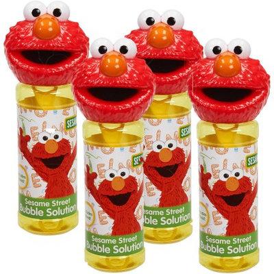 Little Kids Inc. Sesame Street Bottles of Bubbles - Elmo