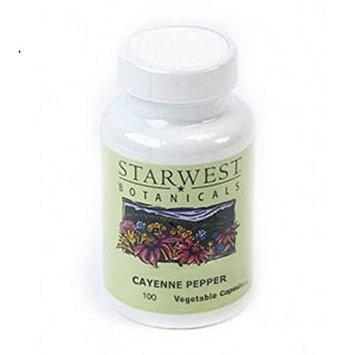 Starwest Botanicals Cayenne Pepper Capsules