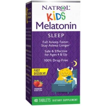 Kid's Melatonin Fast Dissolving 1 MG (40 Tablets) by Natrol at the Vitamin Shoppe