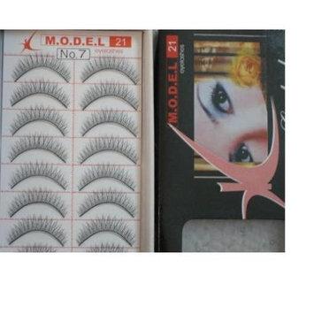 Model 21 High End No. 1,2,3,7,8,9,10 or 11 False Fake Eyelashes 10 Pairs