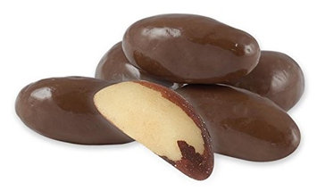 Albanese Confectionery Albanese Milk Chocolate Brazil Nuts, 10LBS