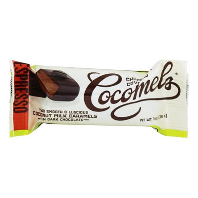 Cocomels Dark Chocolate Covered Cocomels Espresso 1 oz - Vegan