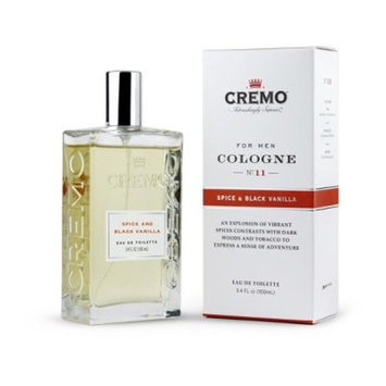 Cremo Spray Cologne Spice & Black Vanilla - 3.4oz