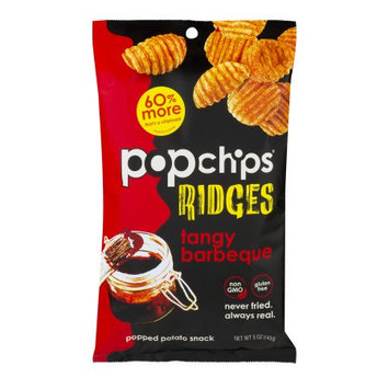 Popchips Inc Popchips Ridges Popped Potato Snack Tangy Barbeque, 5.0 OZ
