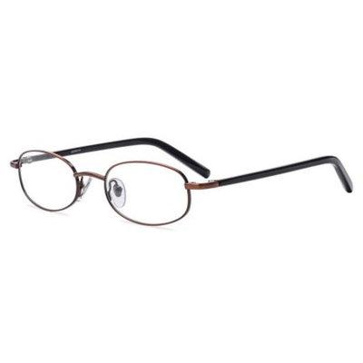 Contour Womens Prescription Glasses, FM4047 Light Brown