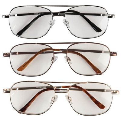 3 Pack Pilot Readers with Spring Hinge