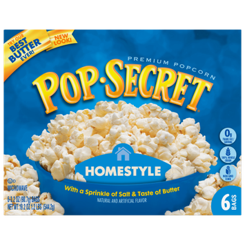 Snyders-lance Pop Secret Microwave Popcorn Homestyle