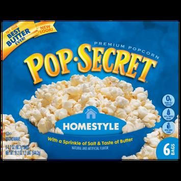 Snyders-lance Pop Secret Microwave Popcorn Homestyle