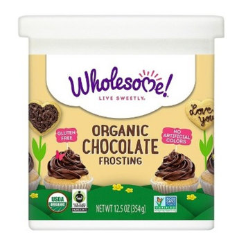 Wholesome Organic Gluten Free Chocolate Frosting - 12.5oz