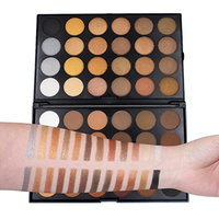 48 Color Shimmer Eyeshadow Powder ,YOYORI Shimmer Charming Loose Sparkly Pearlescent Sparkly Professional Vegan Nudes Warm Natural Bronze Smoky Eye Shadows Palette