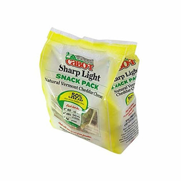 Cabot Reduced Fat Snack Pack Cheddar Cheese, 36 ct