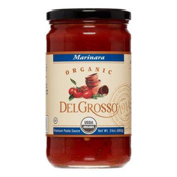 Delgrosso Organic Pasta Sauce, Premium, Marinara Sauce, 24 Oz