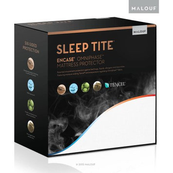 Malouf Sleep Tite Encase Omniphase Bed Bug Proof, Waterproof, and Temperature Regulating Mattress Protector