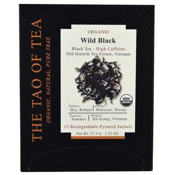 The Tao of Tea, Organic Wild Black, 15 Pyramid Sachets, 1.32 oz (37.5 g) [Flavor : Wild Black]