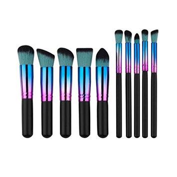 Makeup Brush,SMTSMT 2017 Super Soft 10PCS Cosmetic Brushes Set Foundation Powder Eyeshadow