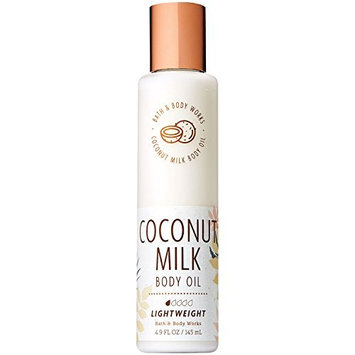 Bath and Body Works Coconut Milk Body Oil 4.9 Fluid Ounce