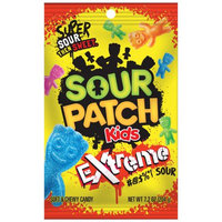Sour Patch Bags Soft & Chewy Sour Then Sweet Extreme Candy 7.2 Oz (Pack of 12)