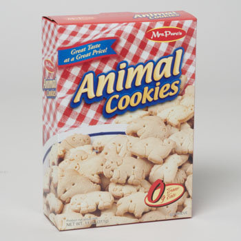 Dollaritemdirect COOKIES BOXED ANIMALS 11 OZ. MRS. PURES, Case Pack of 12