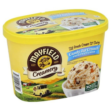 Mayfield Creamery Candy Jar Crunch Premium Ice Cream, 1.5 qt