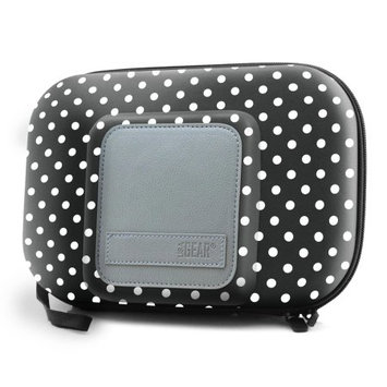 Accessory Power Universal Travel Case for 5 Inch GPS & Accessories by USA Gear (Polka Dot Design)