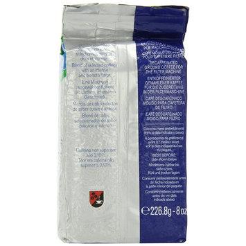 Lavazza Gran Filtro Decaffeinato Ground Coffee Blend, Decaffeinated Medium Roast, 8-Ounce Brick