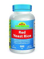 Nova Nutritions Red Yeast Rice 600 mg 120 Capsules