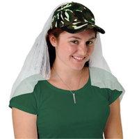 Camo Cap w/Veil (Pack of 12)