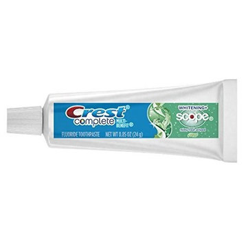 Toothpaste Crest Complete Whitening Plus Scope Minty Fresh Flavor 0.85 oz. Tube pack of 72