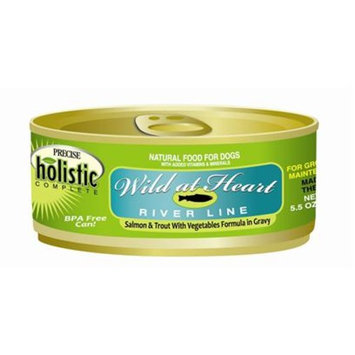 Precise Holistic Complete Wild At Heart Turkey And Duck Canned Dog