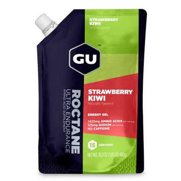 Gu Roctane Energy Gel, Strawberry Kiwi, 15 Servings